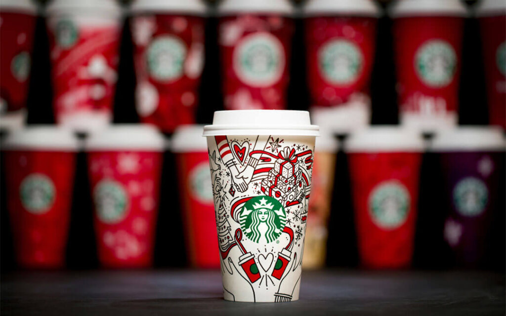 Starbucks Holiday Cup design packaging
